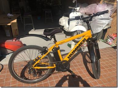 自転車マウンテンバイク ハマーオールペイント